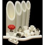 Трубы и запорная арматура