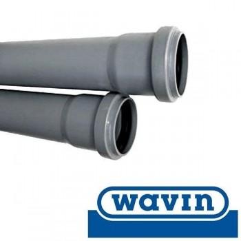 Труба ПВХ внутренней канализации Wavin 110x2.6x2000