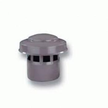 Выпуск вентиляционной трубы Wavin, серый 110