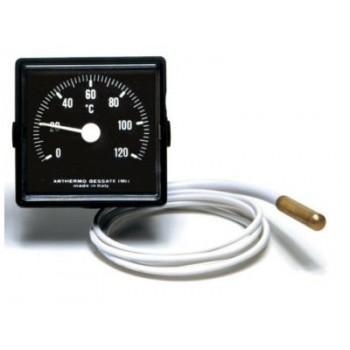 Термометр Arthermo QP-03 0-120°С капиляр 1500 мм квадратный