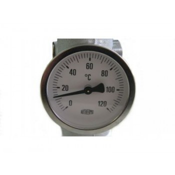Термометр накладной Arthermo AR-TUB 63 мм 0-120°С