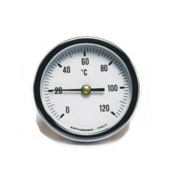 Термометр осевой Arthermo 40 мм 0-120 °С под гильзу 50 мм