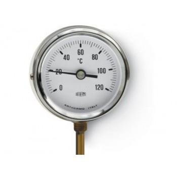 Термометр радильный Arthermo 80 мм 0-120°С с гильзой 50мм