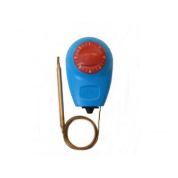 Термостат Arthermo 0-90°С капиляр 1500 мм, синий