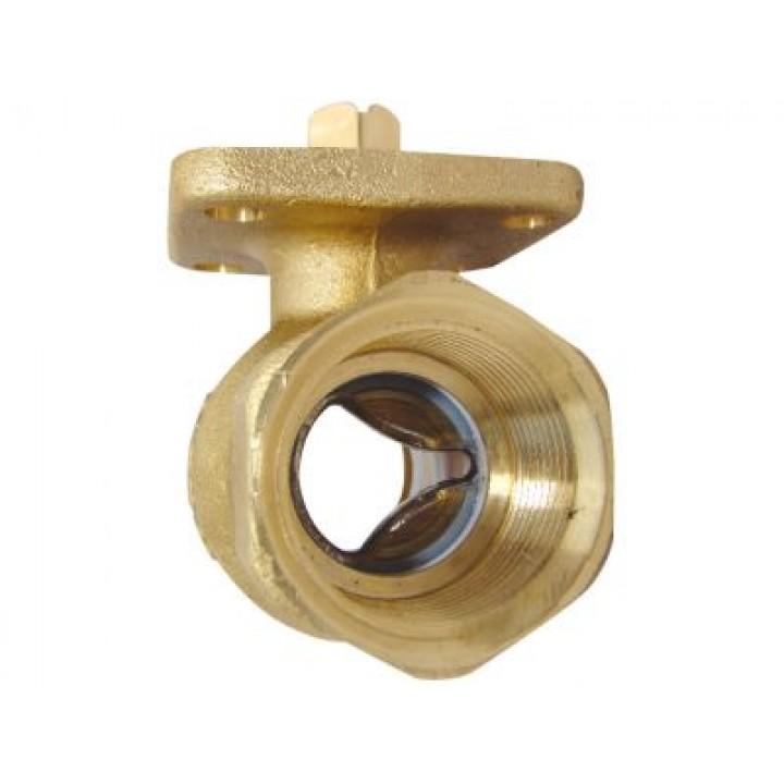 Двухходовой регулирующий шаровый кран без ручного привода DN 25