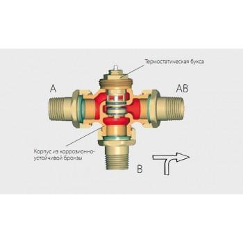 Термостатический смесительный вентиль, DN40, 45C