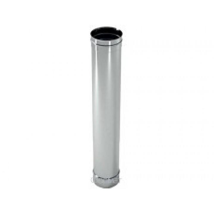 Дымоход из нержавеющей стали ф220 L 1м 0,8 мм