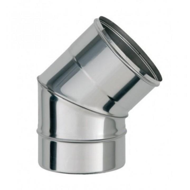 Колено 45 (фиксир) ф160 0,5мм