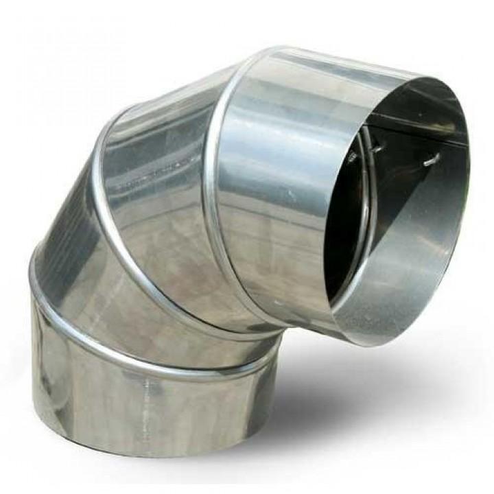 Колено 90 (фиксир) ф130 0,5мм