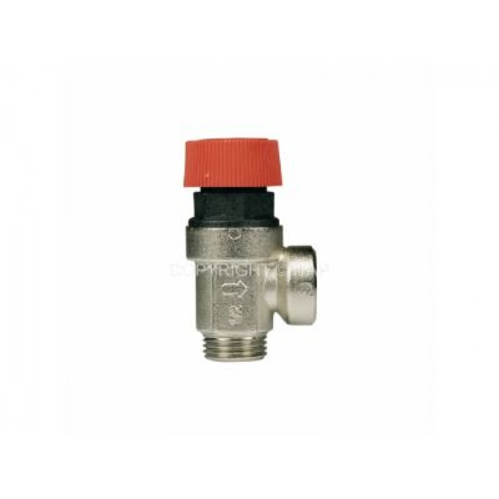 Клапан безопасности 6 бар 1/2'' НВ PN10 никель